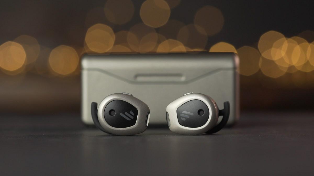 Edifier TWS NB earbuds on desk