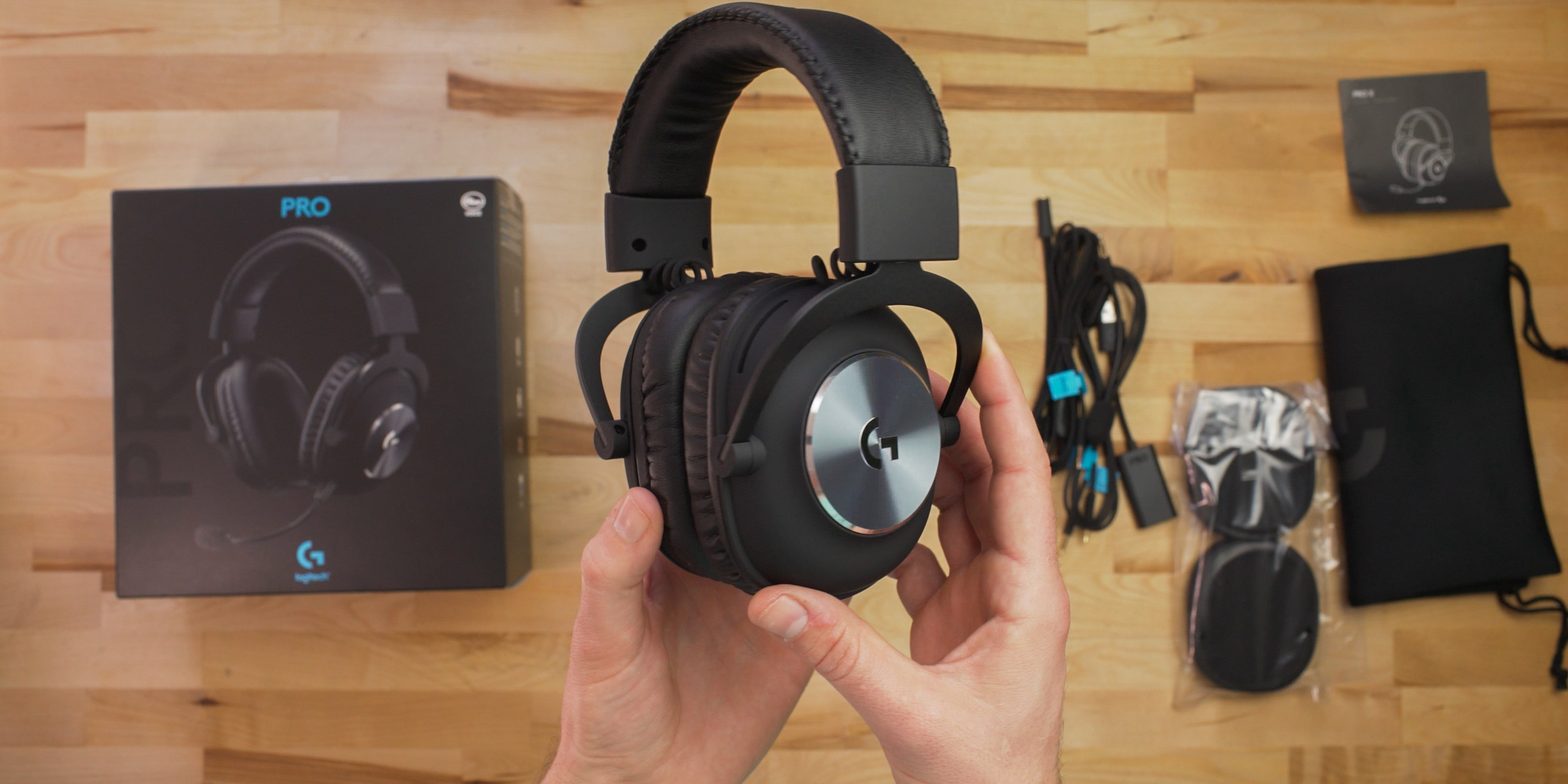 Unboxing the Logitech Pro X Headset