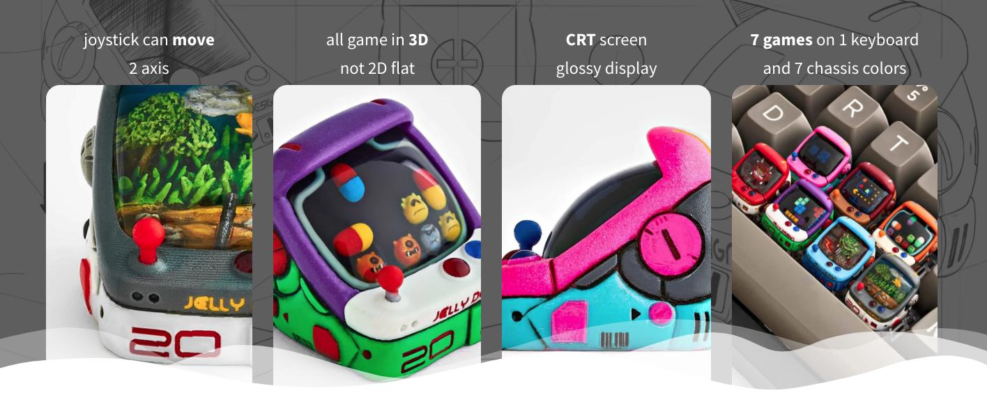 artisan arcade keycaps