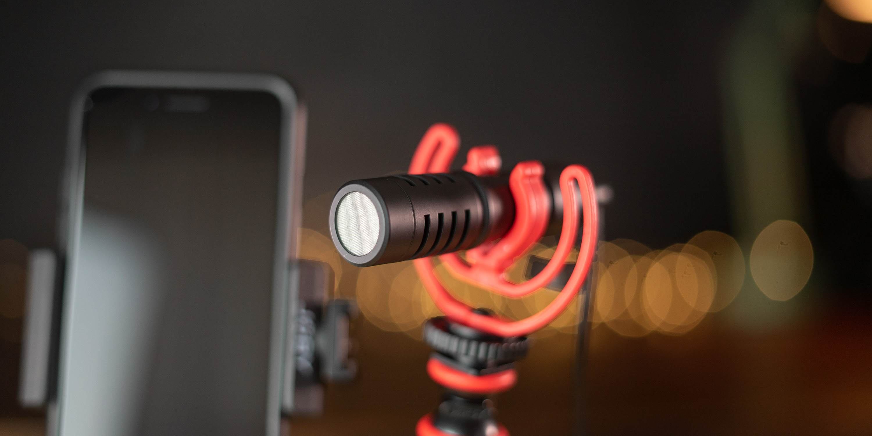 Wavo microphone from Joby GorillaPod Mobile Kit