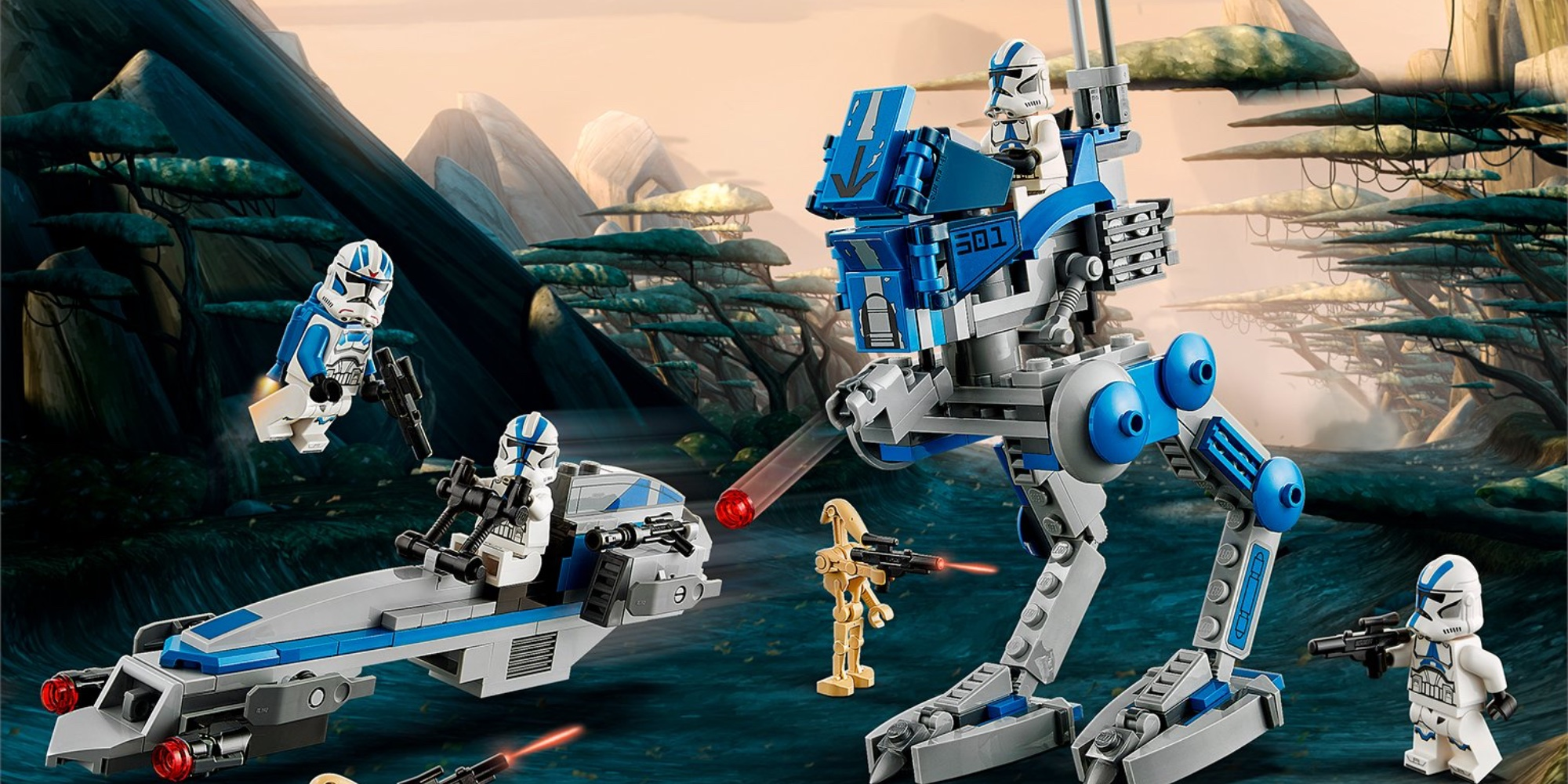 LEGO501st Clone Troopers