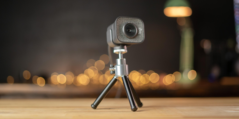 Streamcam Plus on tripod
