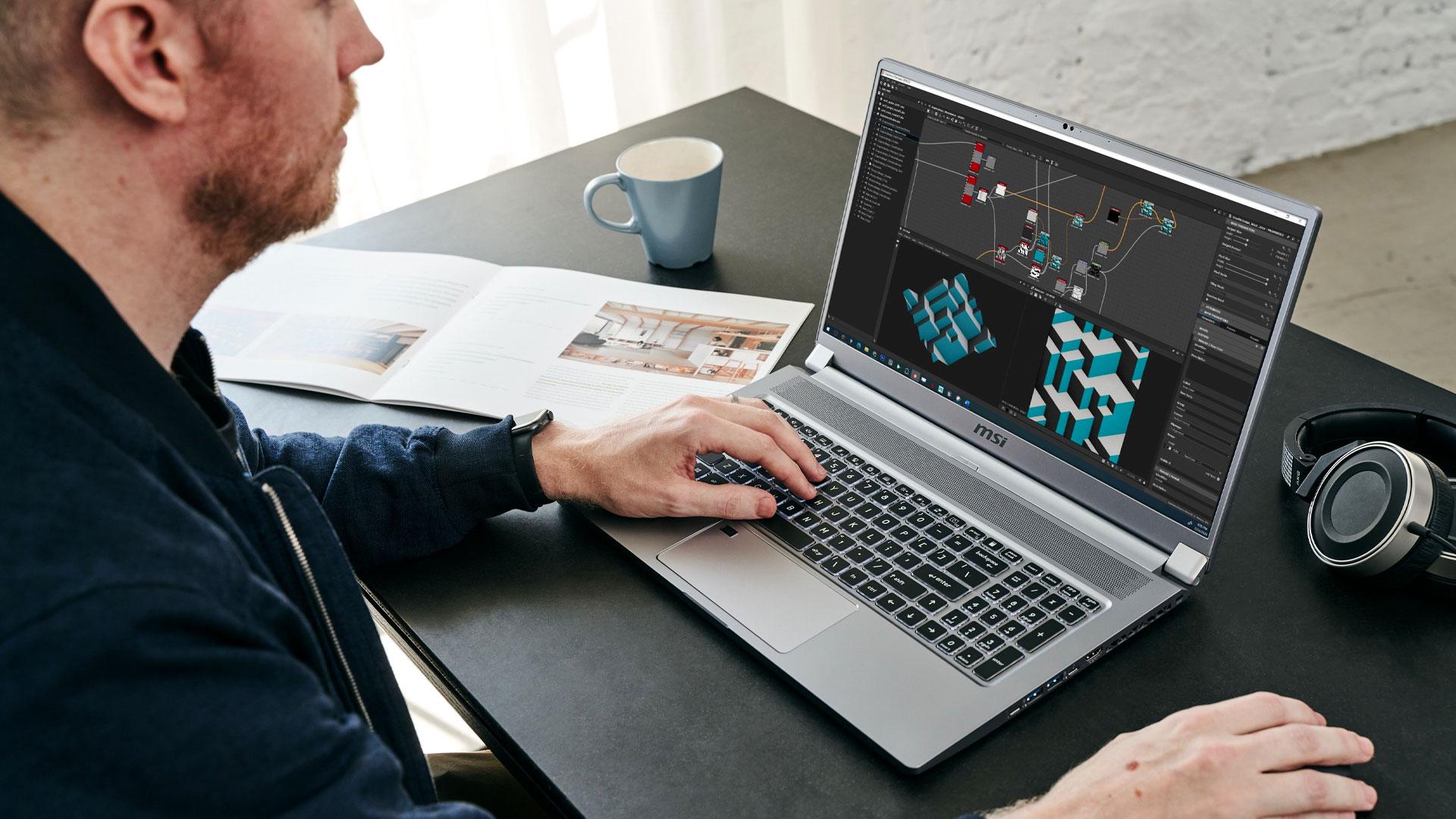 msi creator 17 laptop