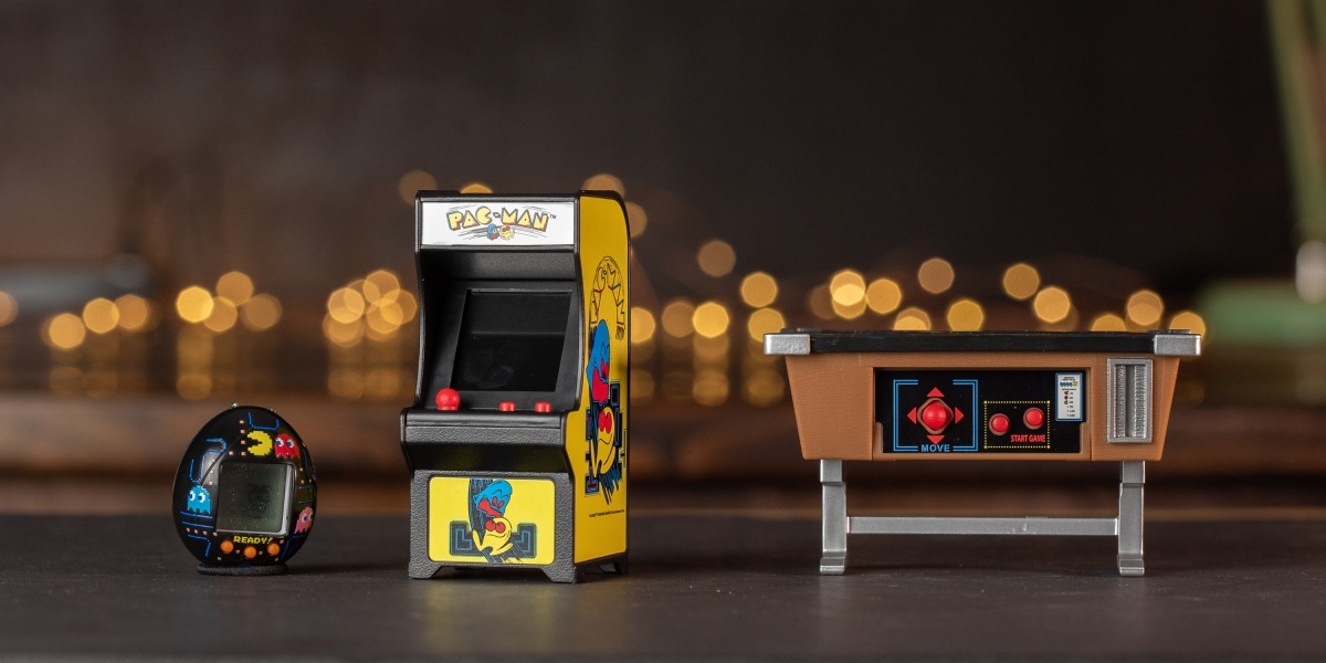 Three PAC-MAN collectibles for 40th Anniversary