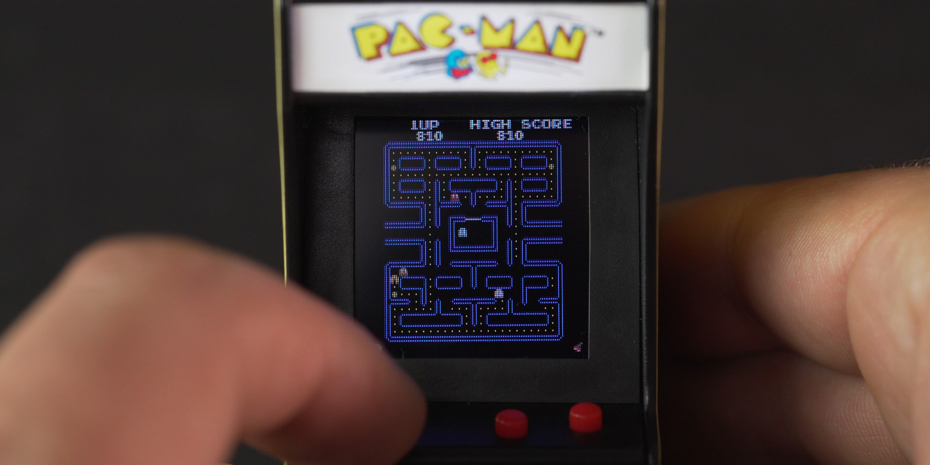Playing the Super Impulse PAC-MAN Tiny Arcade