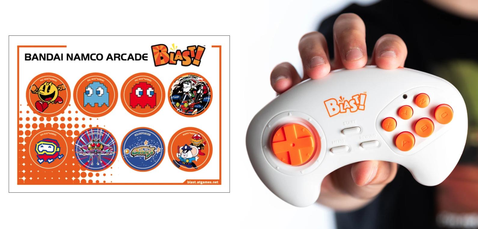 Pac-Man arcade mini console