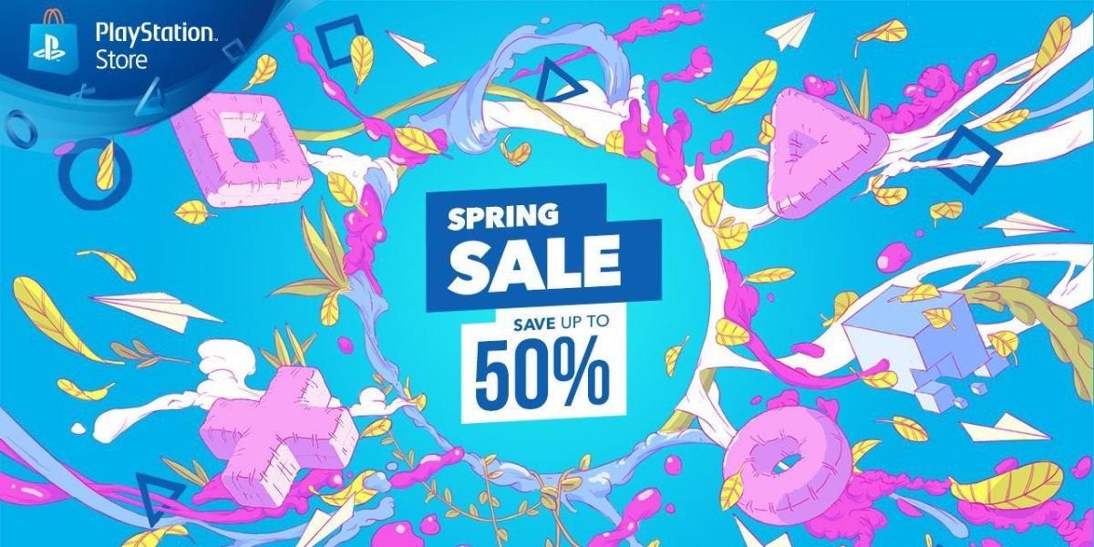 PlayStation Spring Sale digital PS4 game deals