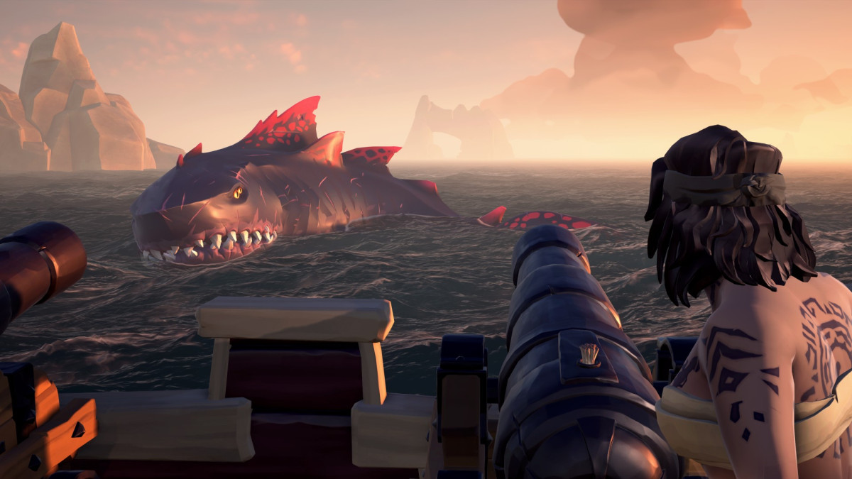 Sea of Thieves on Steam with cross-platform play