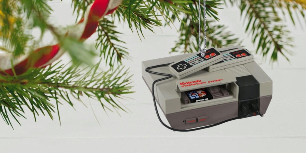 Nintendo ornaments