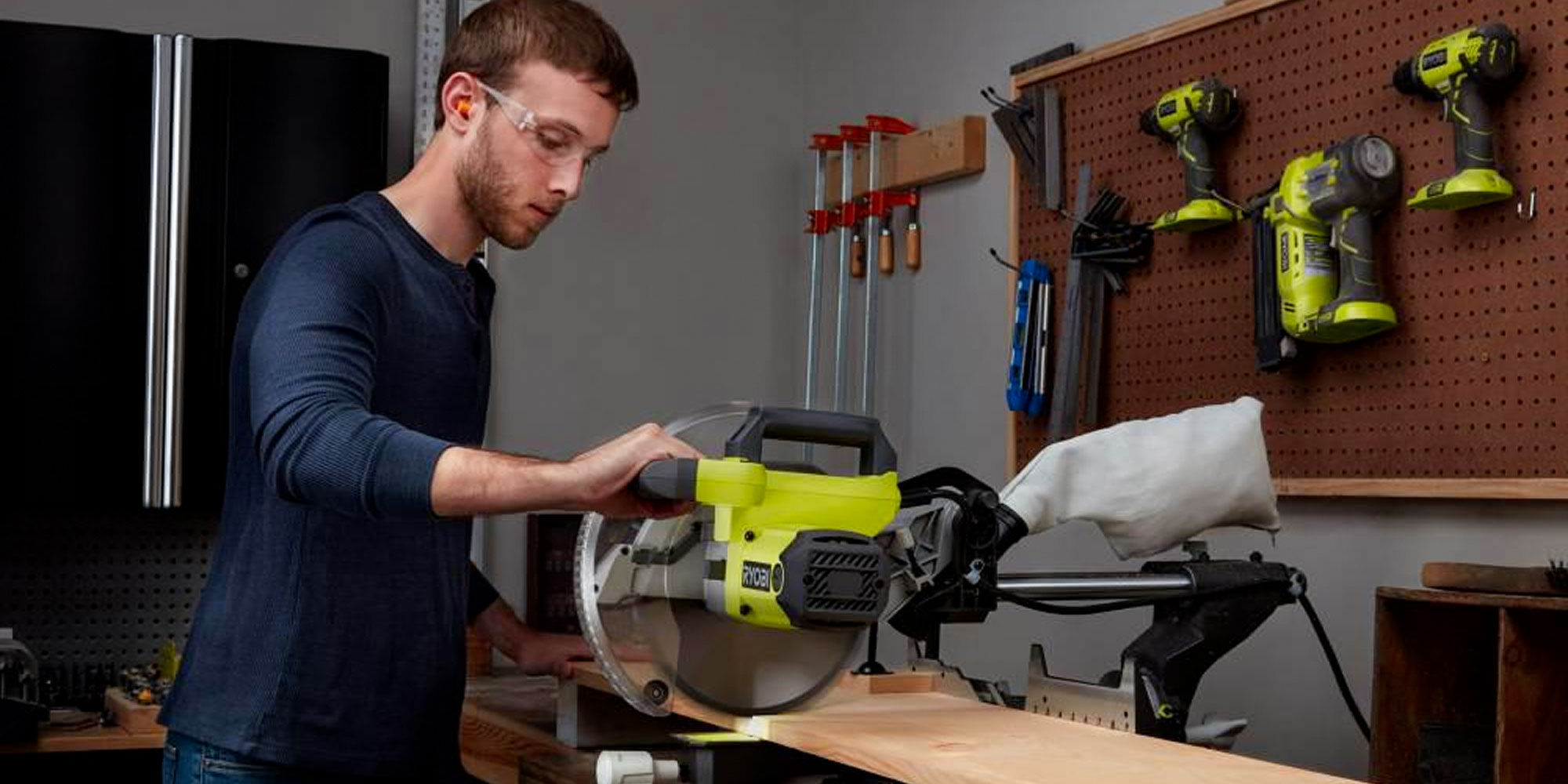 Ryobi S 10 Inch Sliding Compound Miter Saw Drops To 139 Reg 219 9to5toys