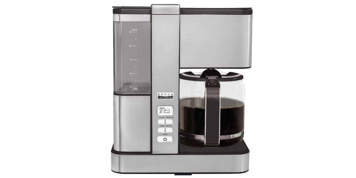 Bella's Pro Infusion 12-cup coffee maker is 50% off for ...