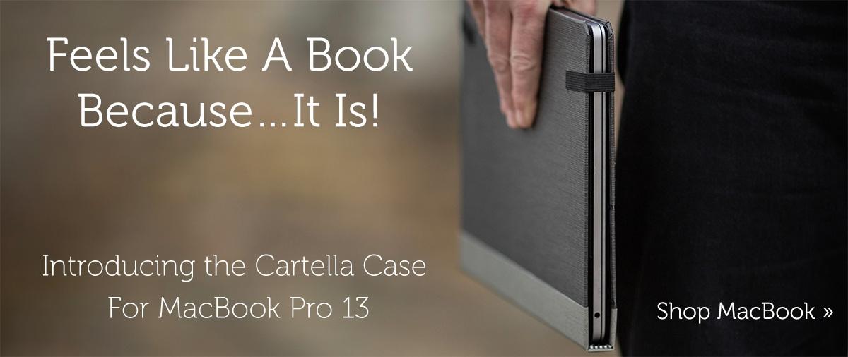 Pad & Quill Cartella MacBook Pro case now live