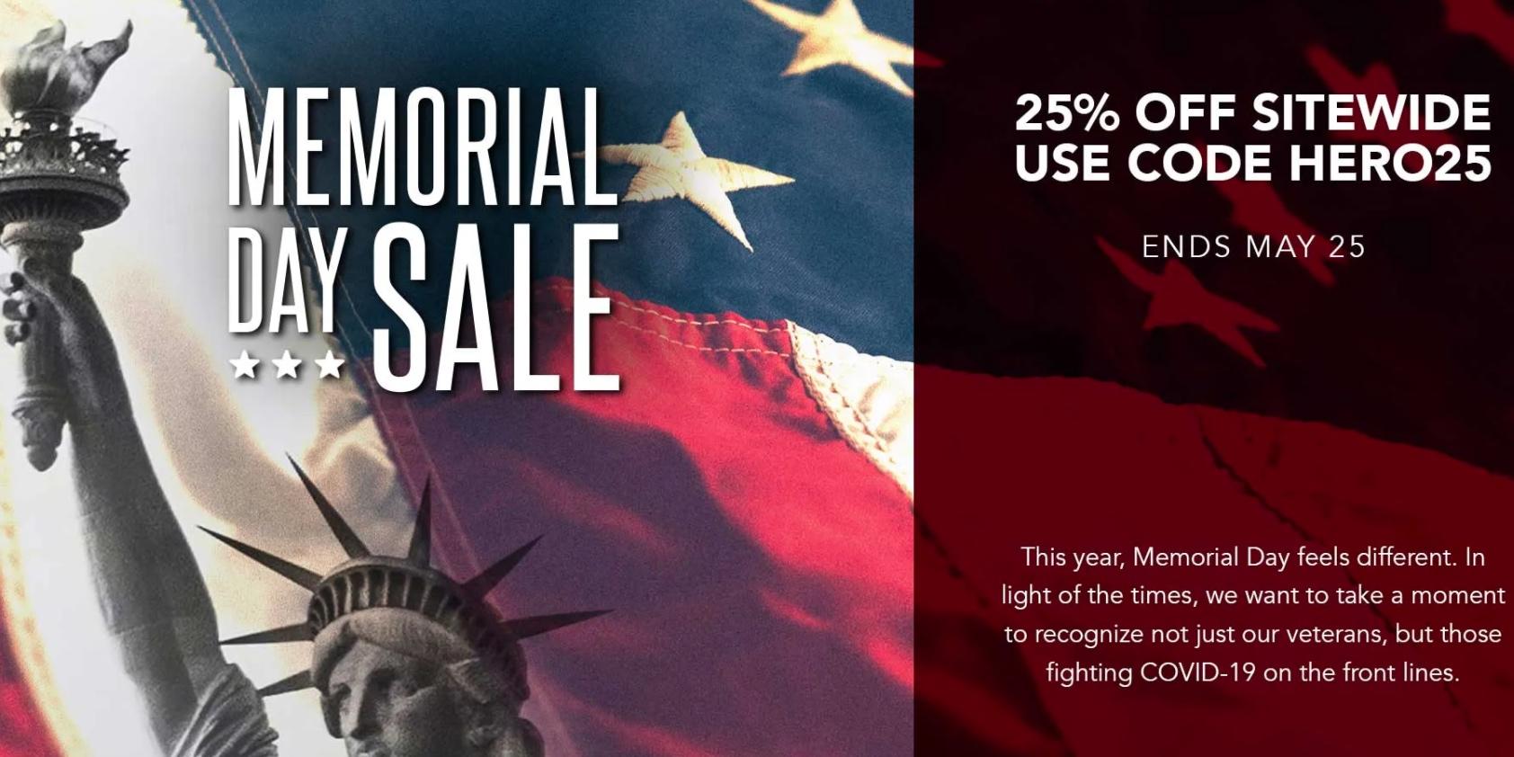 Caudabe Memorial Day iPhone case sale