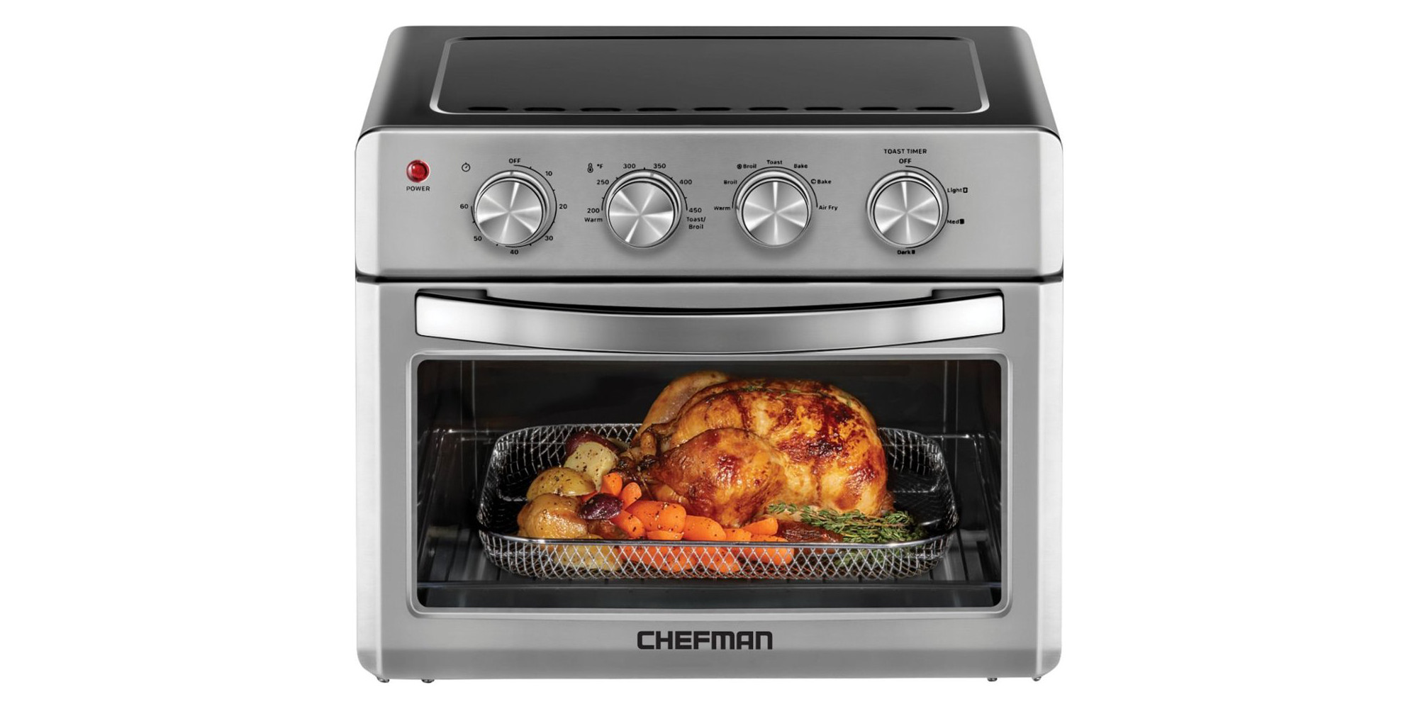 Chefman S Combo Toaster Oven Air Fryer Is Up To 100 Off Today At