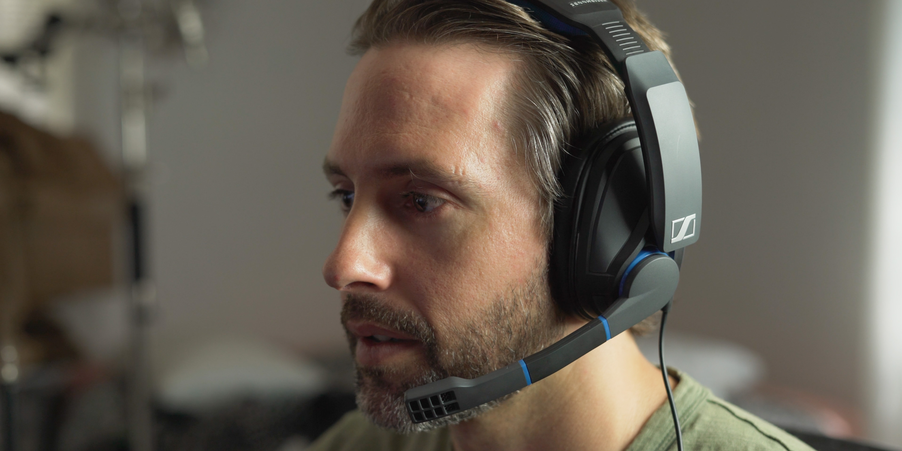 gaming with the GSP 300 gaming headset