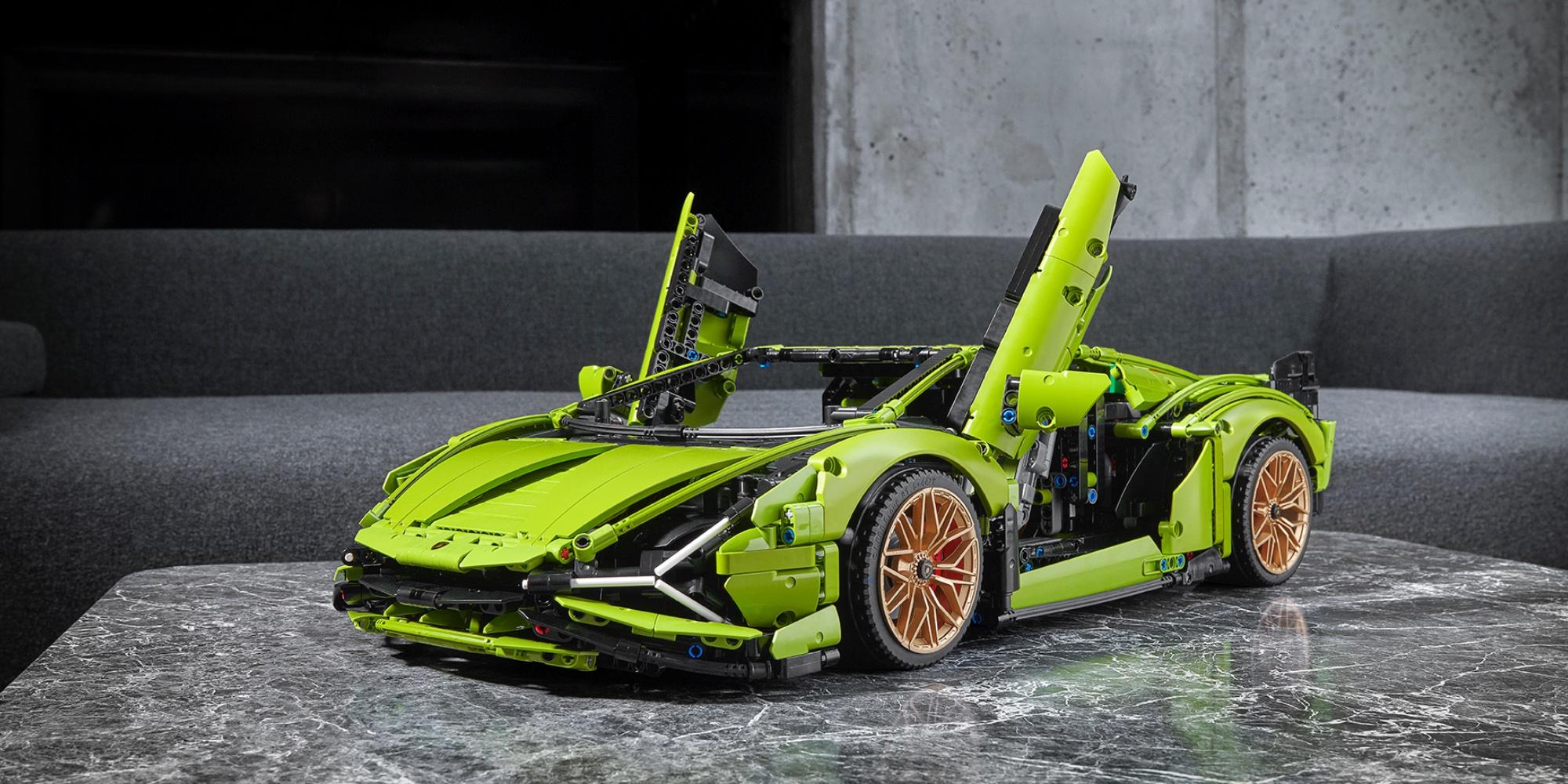 LEGO Lamborghini debuts as new 3,700-piece Technic kit ...