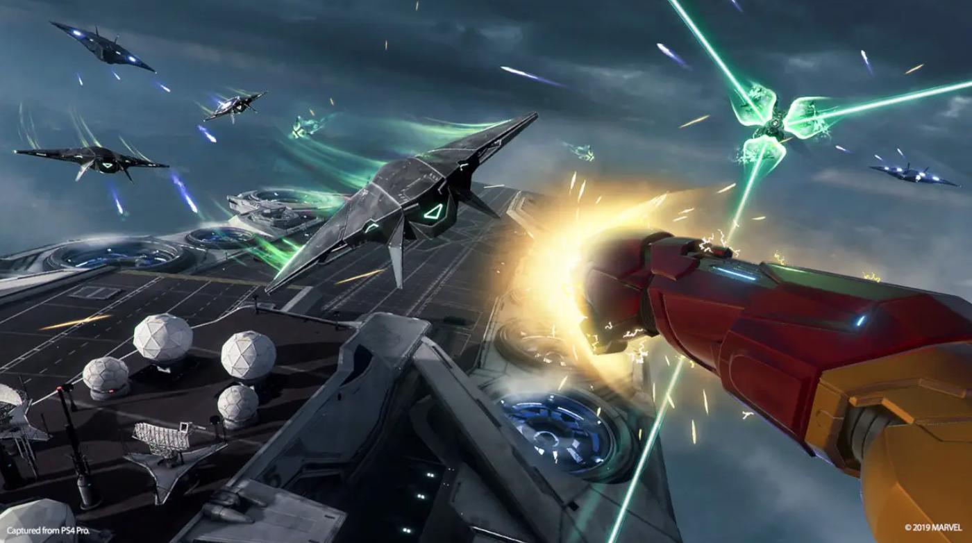 Marvel's Iron Man VR bundle screenshot
