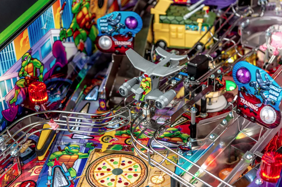 Ninja Turtles pinball machines turtle van