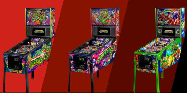Ninja Turtles pinball machines
