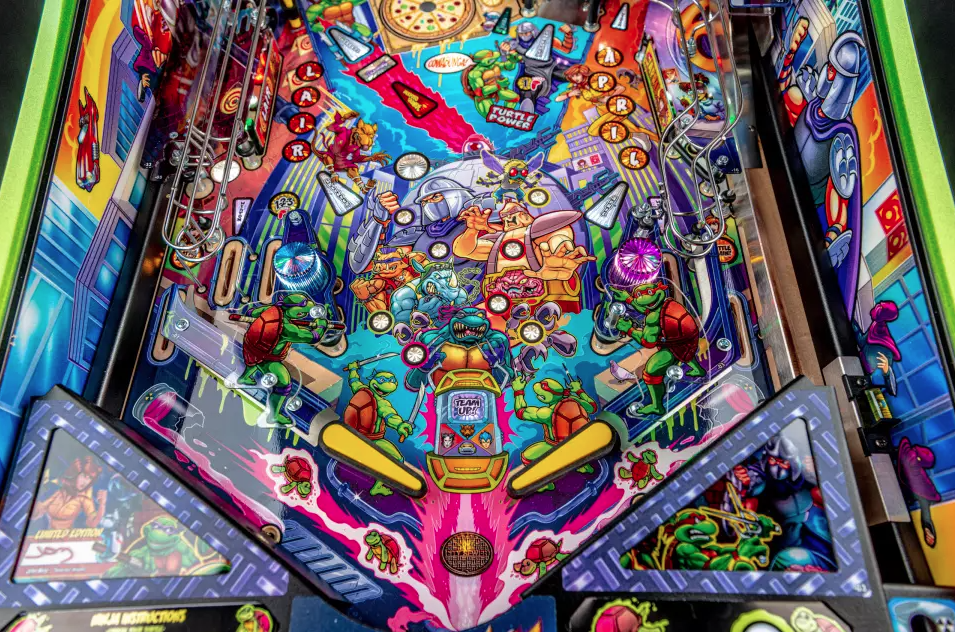 Ninja Turtles pinball machines image