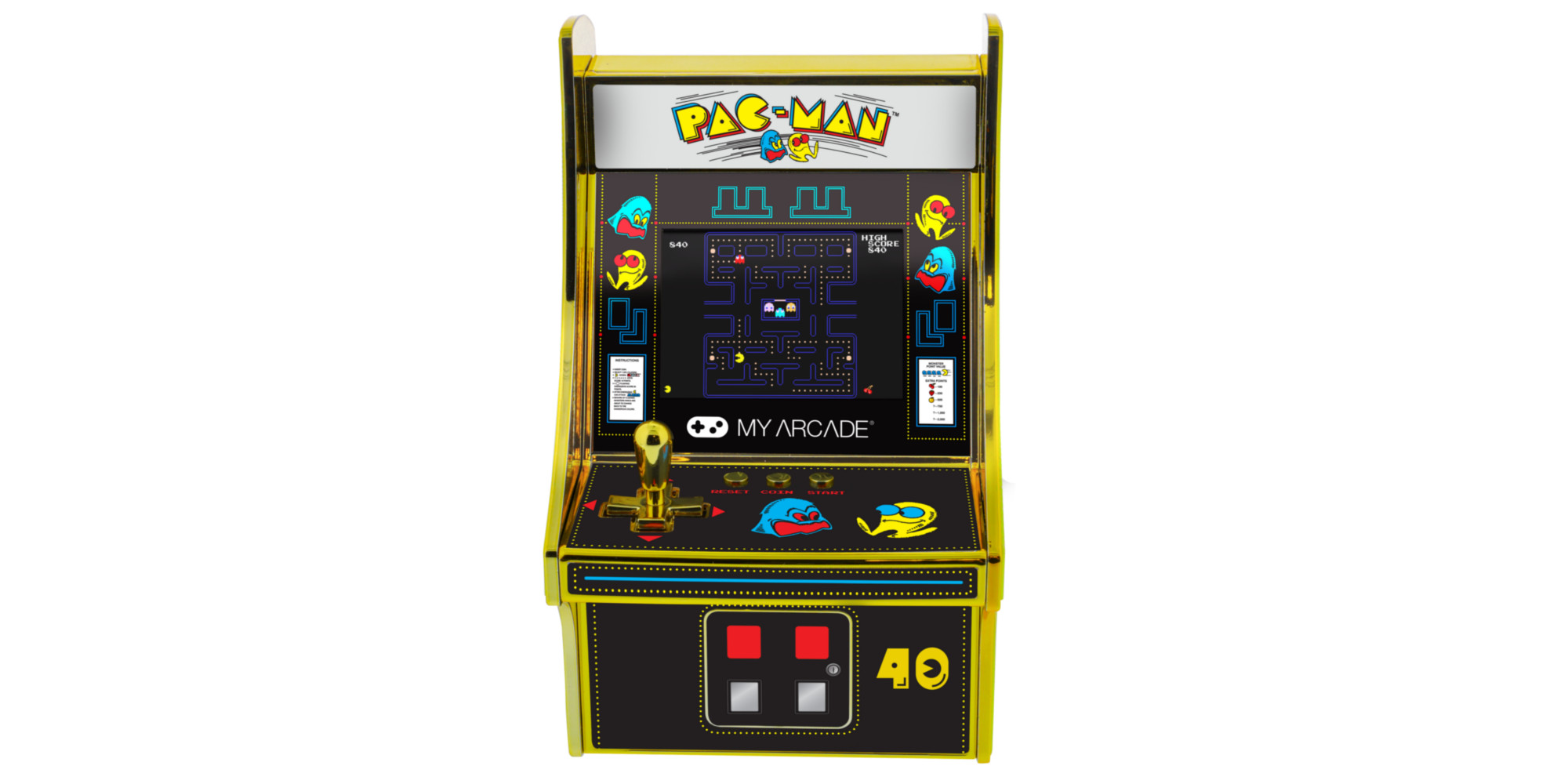PAC-MAN mini arcade coming soon