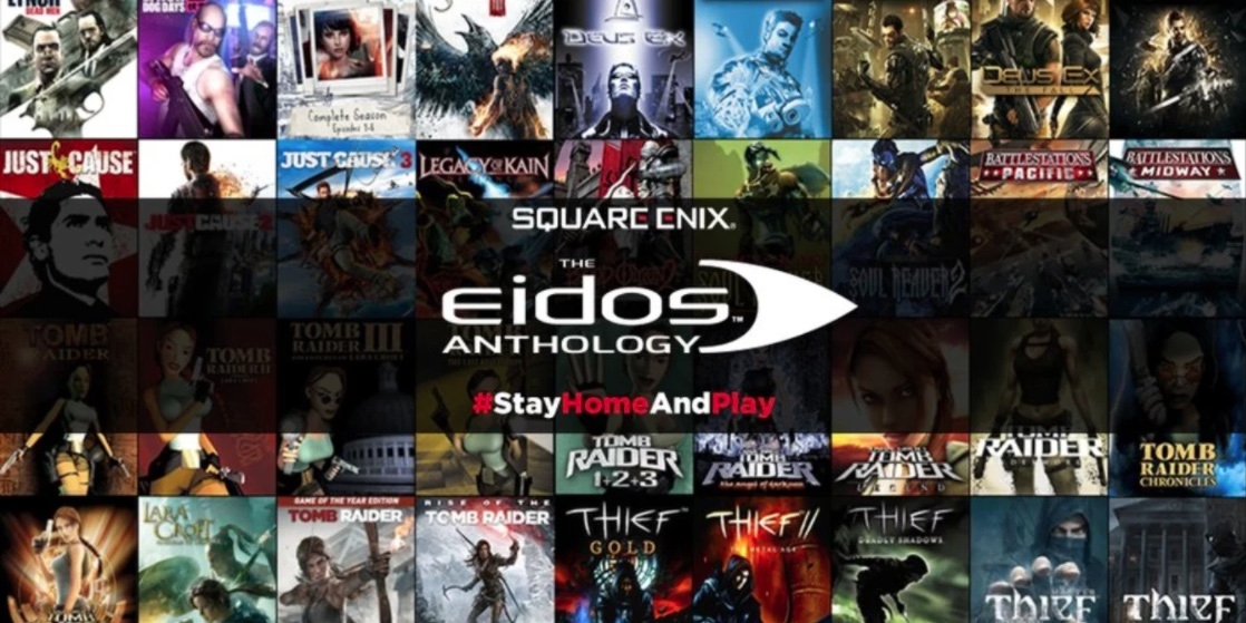 Square Enix Eidos Anthology bundle out now!