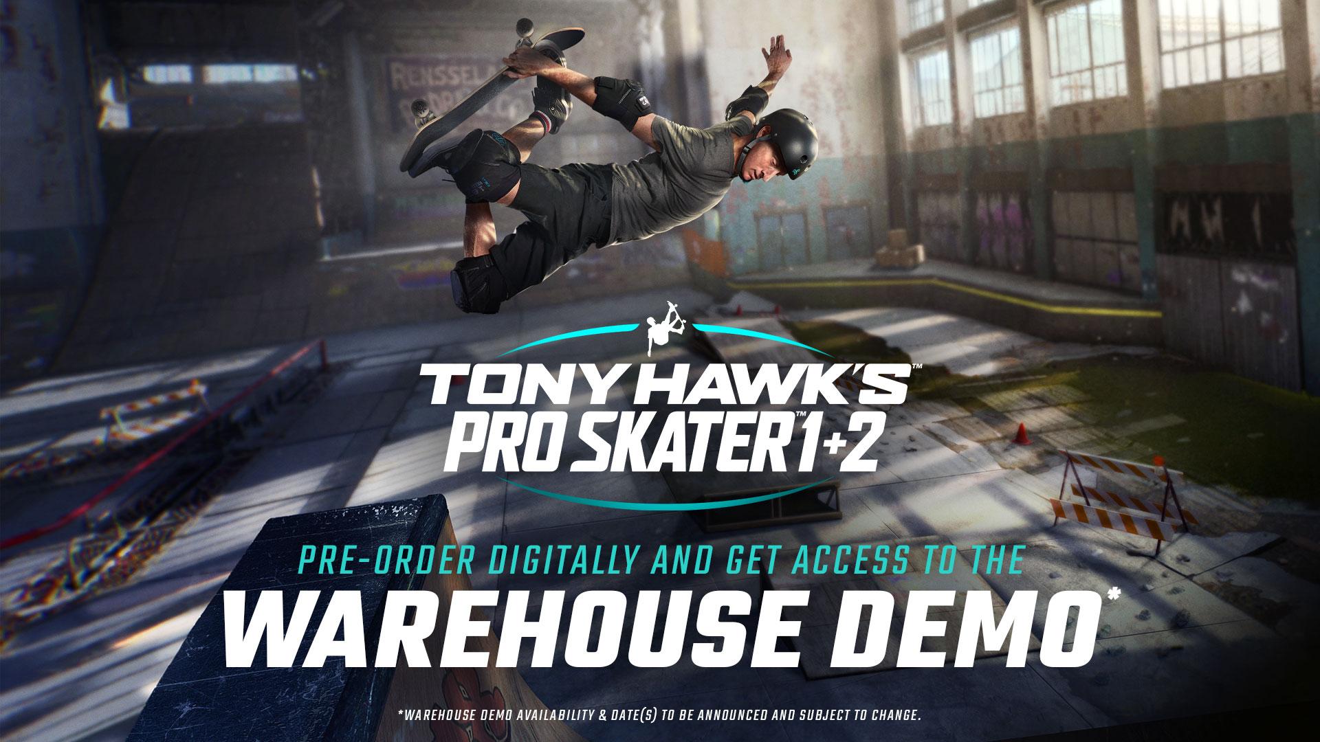 Tony Hawk's Pro Skater 1 and 2 demo