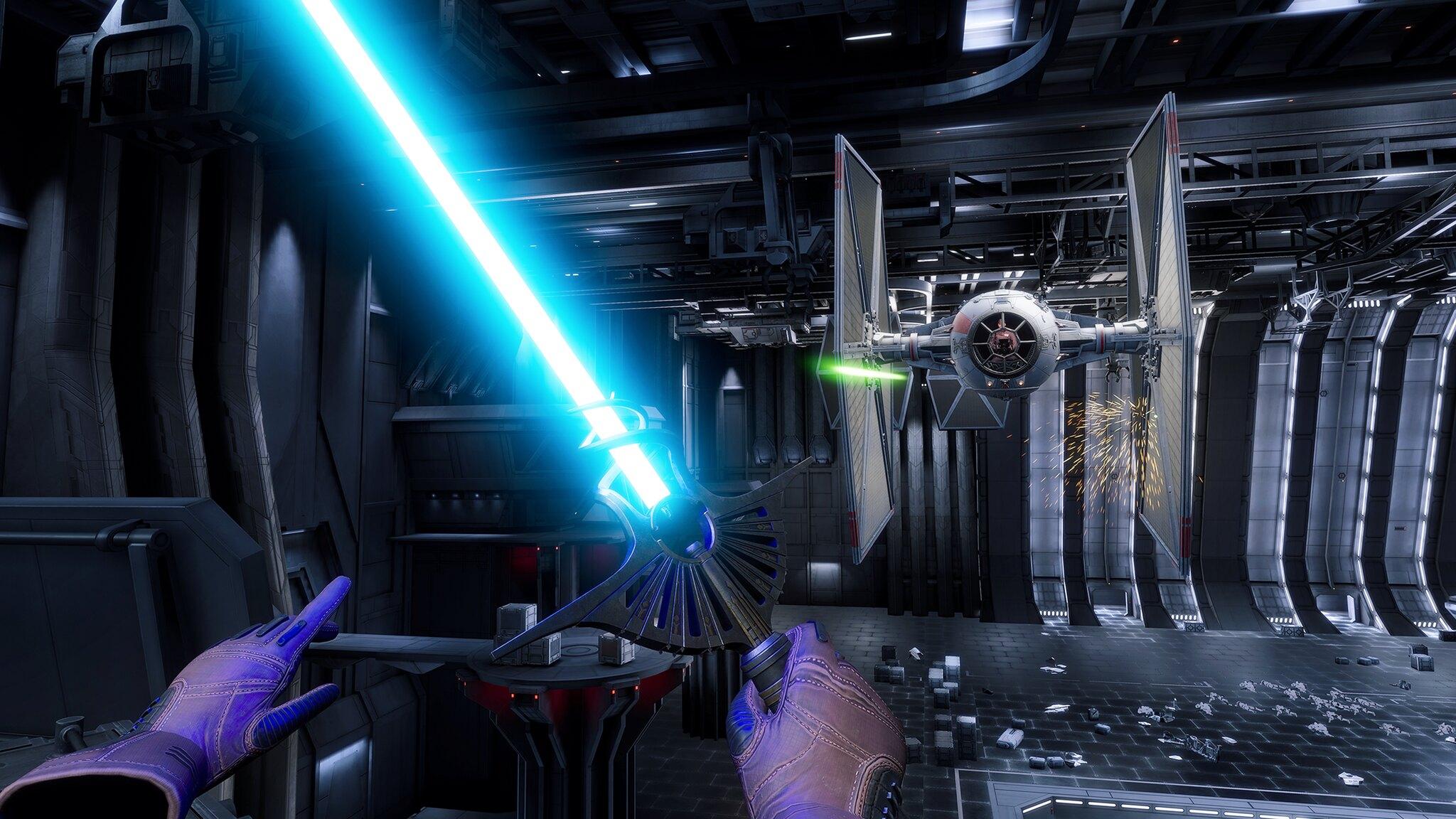 Star Wars Battlefront and Vader Immortal VR