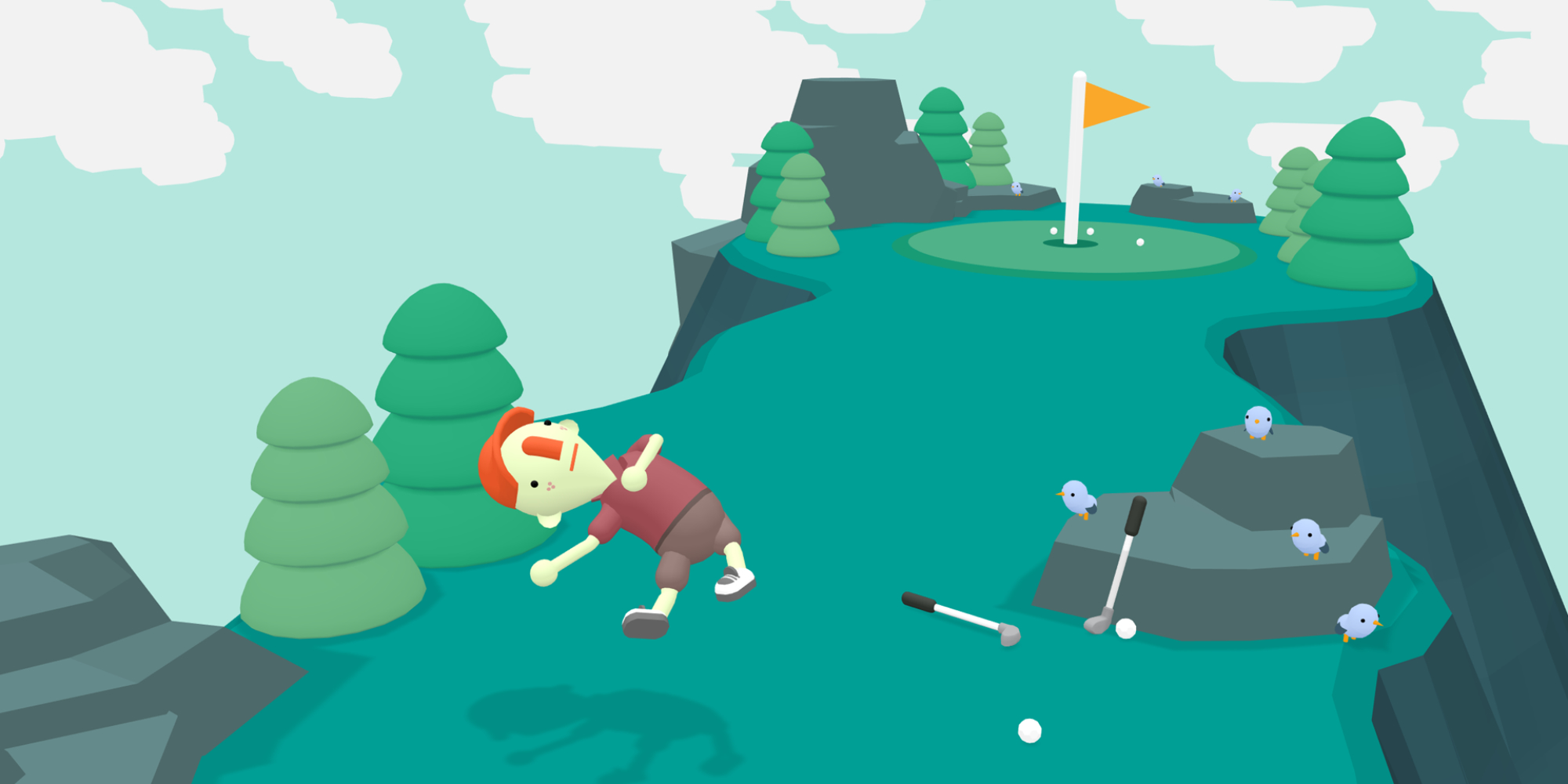 WHAT THE GOLF? lands on Nintendo Switch later this month with Party mode, more