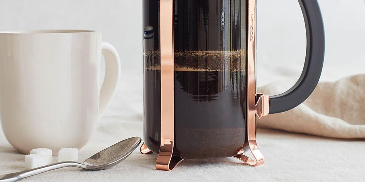 bodum french press coffee