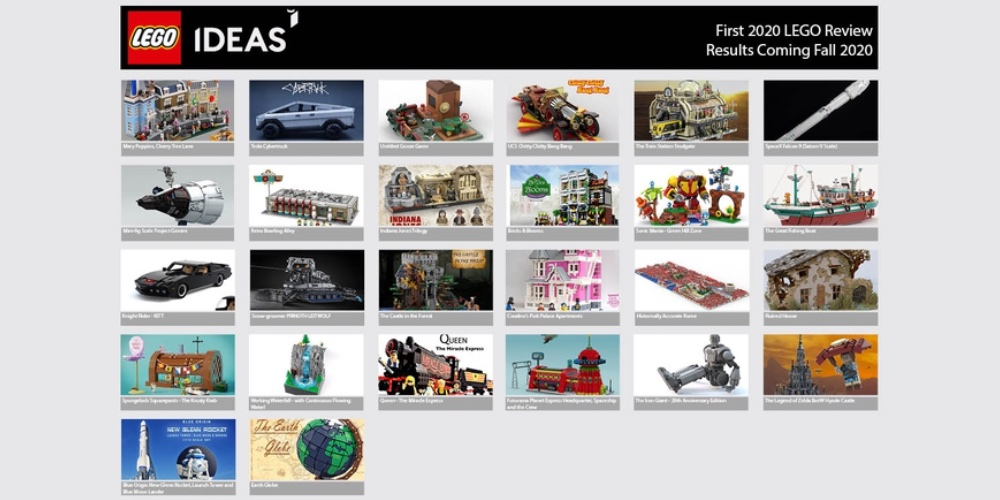 LEGO Ideas spring review