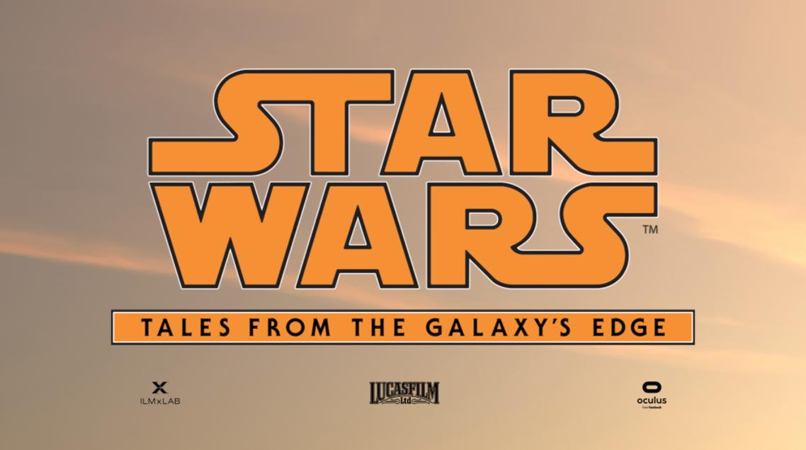 New Star Wars VR game Logo