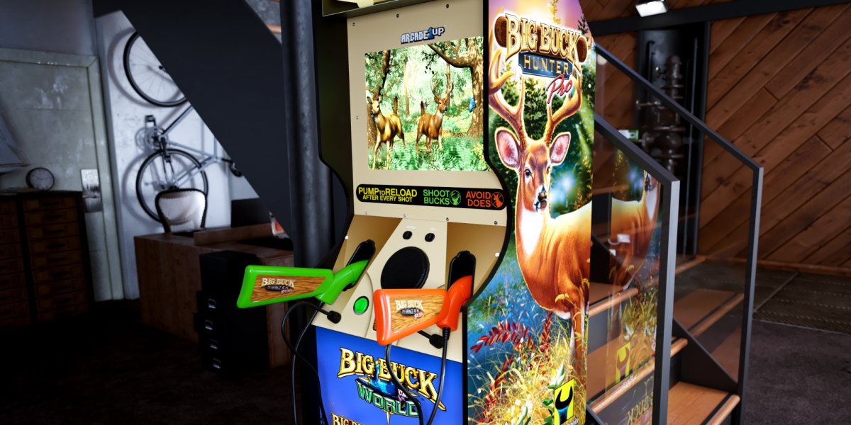 Arcade1up Big Buck Hunter