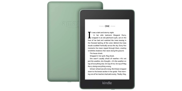 Kindle Paperwhite new colors