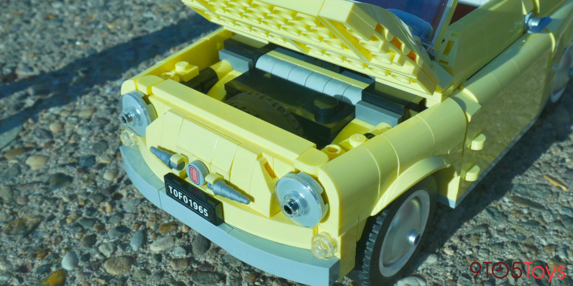 LEGO Fiat 500 review
