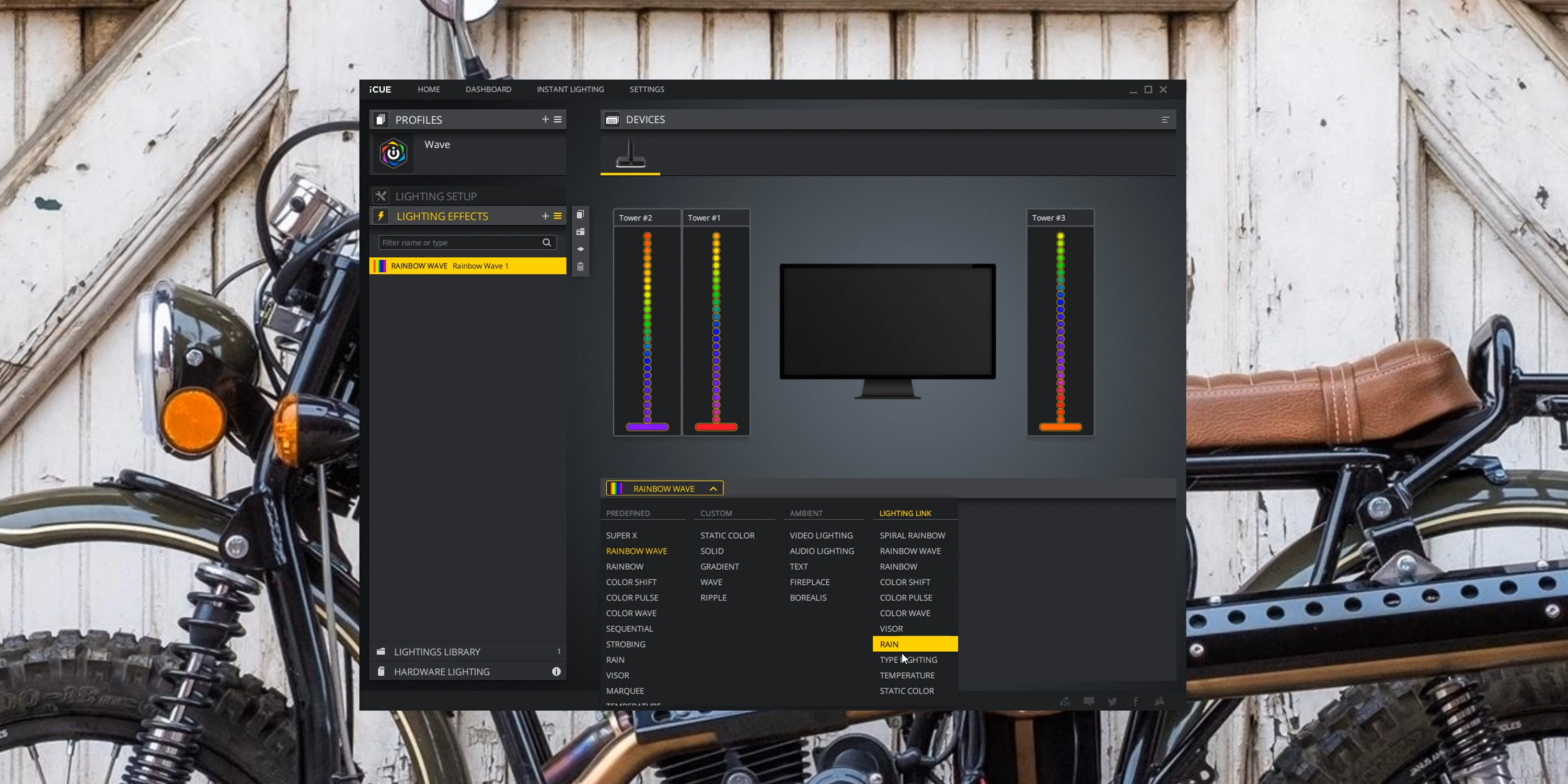 iCUE software to control Corsair LT100 RGB towers