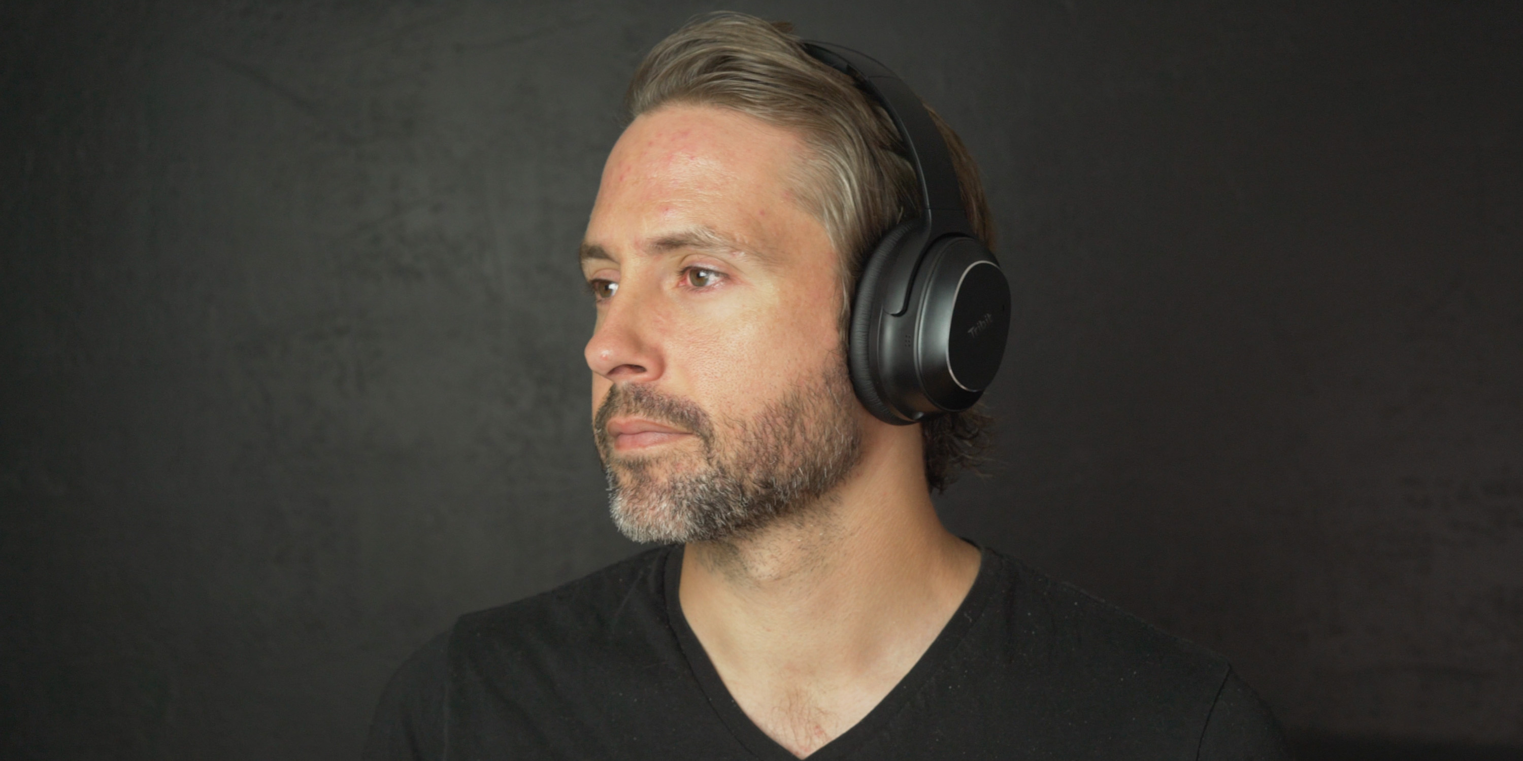 Listening to the Tribit QuietPlus 72 headphones