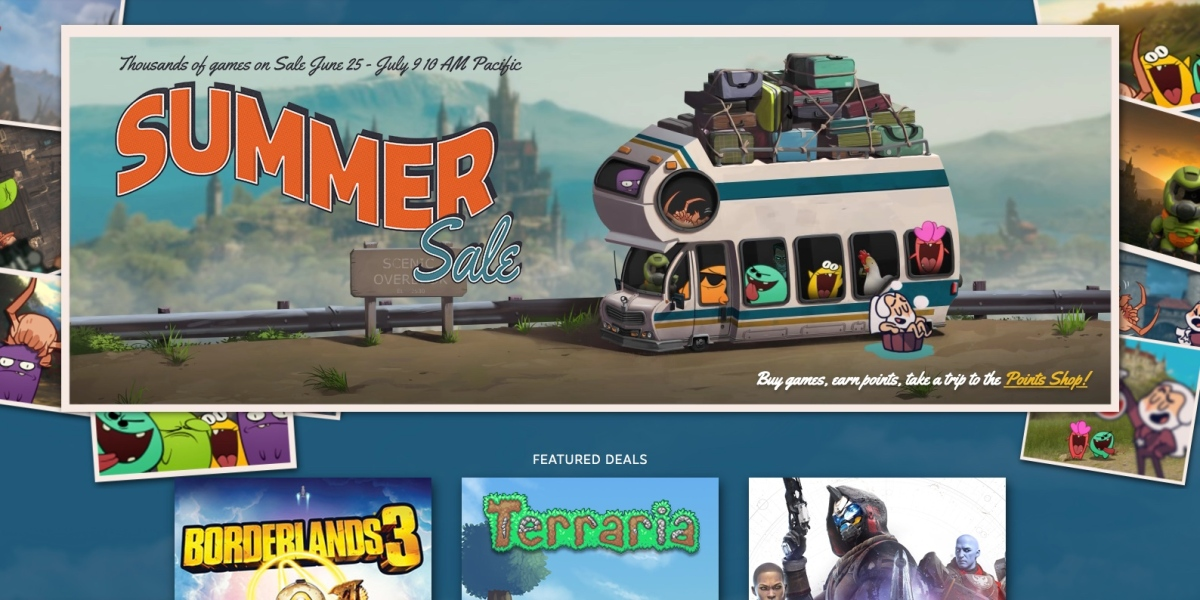Steam Summer Sale Now Live With 1000 S Of Pc Game Deals 9to5toys