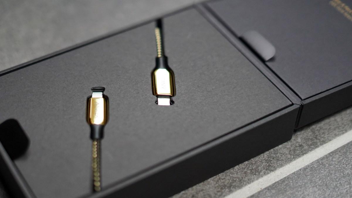 Anker 24K lightning cable