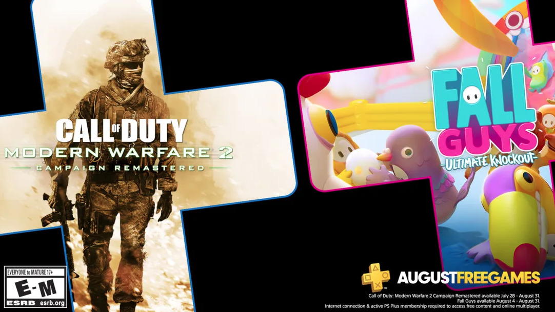August PlayStation Plus free games coming soon