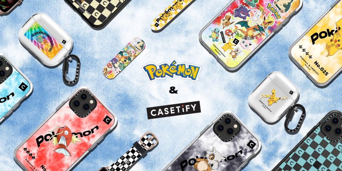 Pokémon iPhone cases