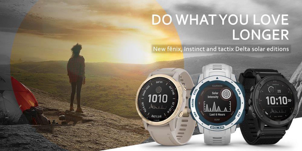 solar smartwatches