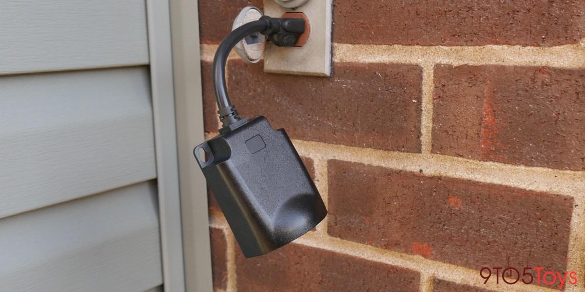 Outdoor Zigbee smart plug
