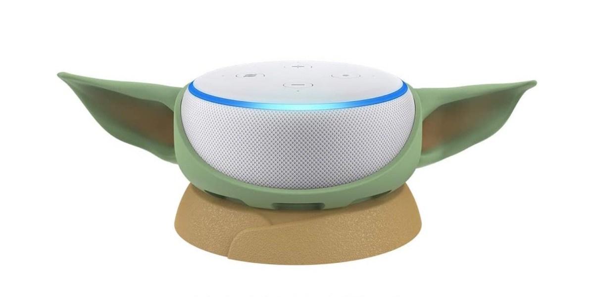 Baby Yoda Echo Dot stand