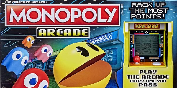 PAC-MAN Monopoly box