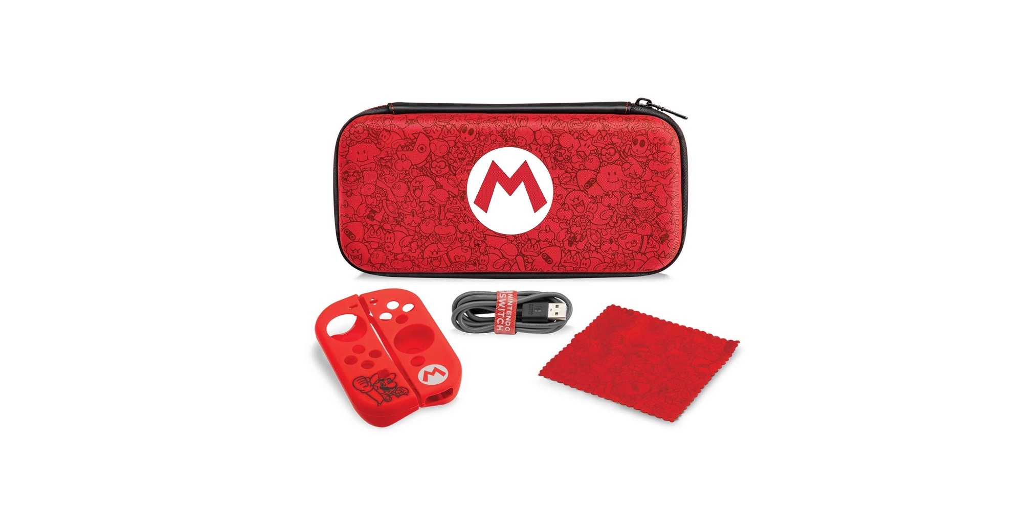 Deck out a Nintendo Switch with PDP's Mario Remix Starter Kit: $18 (30% off)