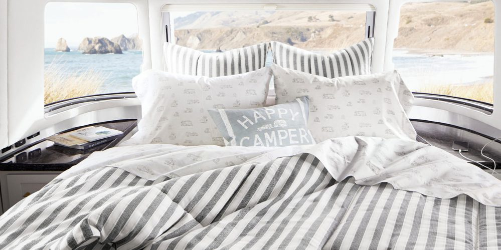 Pottery Barn Airstream Bedding