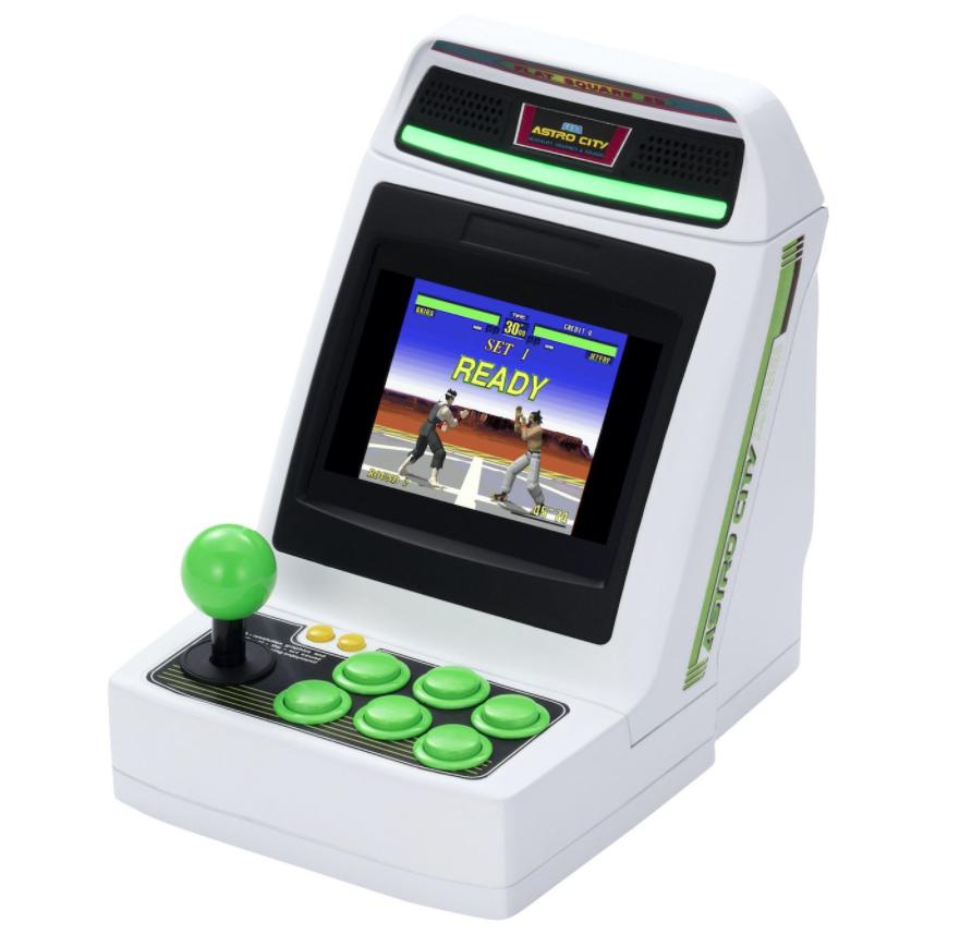SEGA mini console - Astro City Mini arcade cabinet