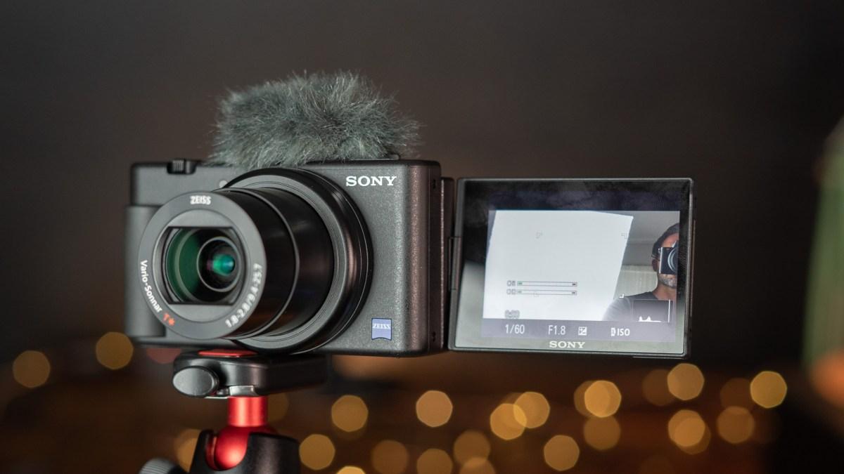 Sony ZV-1 on a Joby Gorillapod