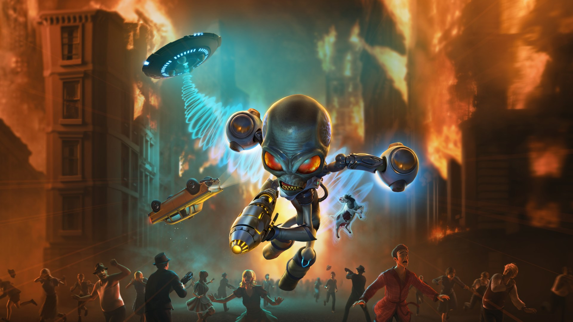 Xbox One game demos - Destroy All Humans